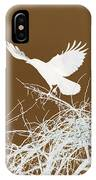 Inverted Crow IPhone Case