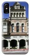 Watsonville I. O. O. F. Building Built In 1893  Damaged By The Loma Prieta Earthquake 1989 IPhone Case