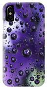 Iris Bubbles IPhone Case