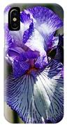 Iris Dressed For Royalty IPhone Case