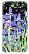 Iris En Folie IPhone Case