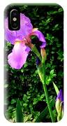 Iris In Sunshine IPhone Case