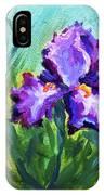Iris Solo IPhone Case