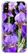 Iris Splendor IPhone Case