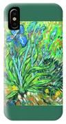 Irises Ala Van Gogh IPhone Case