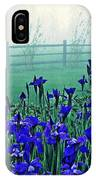 Irises At Dawn 3 IPhone Case