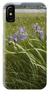 Irises By The Sea IPhone Case