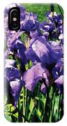 Irises Princess Royal Smith IPhone Case