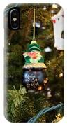 Irish Christmas 2 IPhone Case