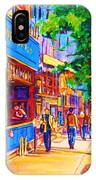 Irish Pub On Crescent Street IPhone Case