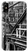 Iron Age - Bethelehem Steel Mill IPhone Case by Bill Cannon