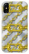Iron Chains With Brushed Metal Texture IPhone Case