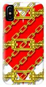 Iron Chains With Heart Texture IPhone Case