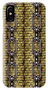 Iron Chains With Money Seamless Texture IPhone Case