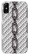 Iron Chains With White Background Seamless Texture IPhone Case