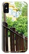 Iron Fence 2 IPhone Case