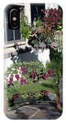 Iron Garden Bench IPhone Case