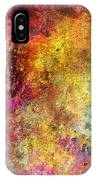 Iron Texture Painting IPhone Case