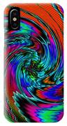 Irritations Converging Into A  Swirl Catus 1 No. 1 H A IPhone Case