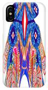 Is That A Head Or A Hat ??  Alien Fineart Graphic Whimsical Rohrshoc Abstract By Navinjoshi IPhone Case