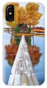 Island Cabin 2 IPhone Case