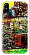 Island Cottage IPhone Case