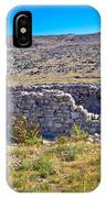 Island Of Krk Old Stone Ruins IPhone Case