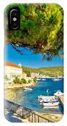 Island Of Vis Seafront Walkway View IPhone Case