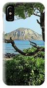 Island Through The Trees IPhone Case