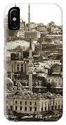 Istanbul Cityscape Vix IPhone Case