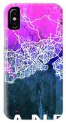 Istanbul Watercolor IPhone Case