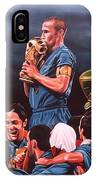 Italia The Blues IPhone Case