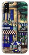 Italian Cafe IPhone Case