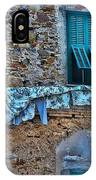 Italian Clothes Dryer IPhone Case
