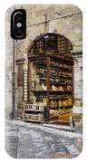 Italian Delicatessen Or Macelleria IPhone Case