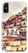 Italian Hillside Village IPhone Case
