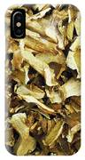 Italian Market Dried Mushrooms IPhone Case