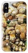 Italian Market Porcini Mushrooms  IPhone Case