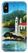 Italy  Lake Como  Villa Balbianello IPhone Case