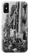 Italy: Naples, C1904 IPhone Case