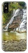 Ithaca Falls In Early Autumn IPhone Case