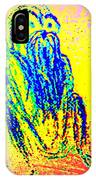it's late autumn and I'm going  IPhone Case