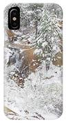 It's Mid May. We're Fast Approaching The End Of Our Snow Season.  IPhone Case