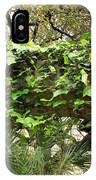 Ivy-covered Arch At The Alamo IPhone Case