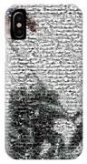 Iwo Jima War Mosaic IPhone Case