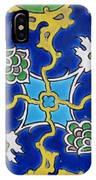 Iznik Tiles In Topkapi Palace Istanbul  IPhone Case