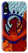 Izzet Experience Or Mana Counter IPhone Case