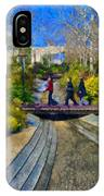 J Paul Getty Museum Garden Terrace IPhone Case