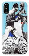 Jack Johnson Jim Jeffries Bout July 4th Reno Nevada 1910-2008 IPhone Case