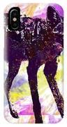 Jackal Children Watercolor Animal  IPhone Case